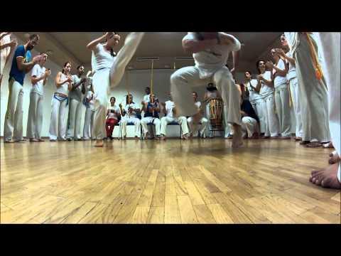 Ginga Mundo Genève - 5ta Festa da Capoeira - roda de abertura