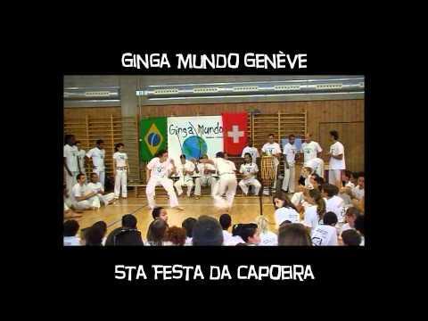 Ginga Mundo Genève - 5ta Festa Da Capoeira- 1-2-3 Juin 2012